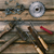 set of tools on a wooden background stock photo © ultrapro