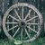 old wooden cart wheel stock photo © ultrapro