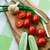 tomatoes and green onions on cutting board stock photo © ultrapro