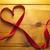 lint · witte · liefde · vrouwen · hart - stockfoto © unikpix