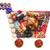 natal · bolinhos · bolo · vinho · vermelho · chá - foto stock © unikpix