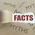 feiten · waarheid · verborgen · gescheurd · papier · gat · woord - stockfoto © unikpix
