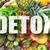 detoxikáló · kézzel · írott · tábla · friss · zöldségek · étel · zöldség - stock fotó © unikpix