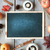 autumn background with empty chalkboard stock photo © unikpix