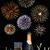 champagne and fireworks stock photo © unikpix