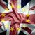 referéndum · ue · Reino · Unido · bandera · bordo · dedo · del · pie - foto stock © unikpix