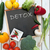schoolbord · verse · groenten · voedsel · plantaardige - stockfoto © unikpix