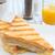 prato · grelhado · sanduíche · suco · de · laranja · branco · tabela - foto stock © unikpix