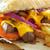 сэндвич · картофель · фри · хлеб · мяса · стейк - Сток-фото © unikpix