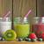 frutas · aislado · blanco · vidrio · salud - foto stock © unikpix