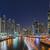 Dubai · Bina · gece · aydınlatma · iş · ofis - stok fotoğraf © unkreatives
