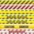 voorzichtigheid · teken · tape · waarschuwing · gevaar · kruis - stockfoto © unkreatives