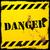 verkeersbord · gevaar · roestige · muur · textuur · ontwerp - stockfoto © unkreatives
