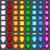 coloré · brillant · bijoux · vert · bleu - photo stock © unweit