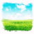 aquarel · hemel · gras · groene · velden · blauwe · hemel - stockfoto © unweit