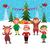 веселый · Рождества · мало · эльф · подарок · настоящее - Сток-фото © urchenkojulia