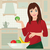maternité · robe · illustration · femme · enceinte · Shopping - photo stock © urchenkojulia