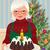 abuela · Navidad · torta · ancianos · ama · de · casa - foto stock © UrchenkoJulia