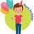 gelukkige · verjaardag · jongen · verjaardagsfeest · gelukkig · klein · verjaardag - stockfoto © urchenkojulia