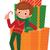 boy with christmas gift stock photo © urchenkojulia