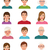 avatars people of different ages stock photo © urchenkojulia