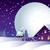 クリスマス · 1泊 · 村 · 家 · 自然 - ストックフォト © UrchenkoJulia
