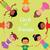 kör · boldog · gyerekek · különböző · lány · világ - stock fotó © urchenkojulia