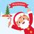 child in costume santa claus stock photo © urchenkojulia