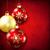 Noel · eps · 10 · kırmızı · sanat - stok fotoğraf © user_10003441