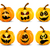 Isolated pumpkins stock photo © user_10003441