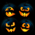 halloween · abóboras · 10 · conjunto · festa · cara - foto stock © user_10003441