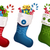 natal · meias · presentes · isolado · sapatos · dom - foto stock © user_10003441