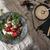 fekete · tányér · eper · öreg · fehér · csipke - stock fotó © user_11056481