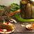marinato · cetrioli · spezie · erbe · vetro - foto d'archivio © user_11056481