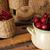 dolce · ciliegio · rosso · ribes · ceramica · ciotola - foto d'archivio © user_11056481