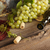 Grape green bunch with wine bottle stock photo © user_11056481