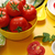 fresh ripe tomatoes in yellow bowl stock photo © user_11056481
