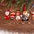 рождественская · елка · филиала · снега · изолированный · белый · копия · пространства - Сток-фото © user_11056481
