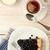 plaster · ciasto · biały · tablicy · kubek · herbaty - zdjęcia stock © user_11056481