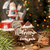 karácsony · mézeskalács · sütik · ág · fenyő · üveg - stock fotó © user_11056481