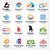 большой · набор · вектора · логотип · буква · r · знак - Сток-фото © user_11138126
