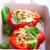 gevuld · bel · paprika · voedsel · kaas · boord - stockfoto © user_11224430