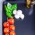 pequeño · ensalada · bajo · caloría · alimentos · salud - foto stock © user_11224430