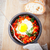 traditional middle eastern dish of shakshuka in a pan stock photo © user_11224430