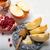 miele · melograno · mele · vecchio · legno · alimentare - foto d'archivio © user_11224430