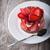 イチゴ · 菌 · 食品 · 緑 - ストックフォト © user_11224430
