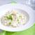 risotto · frango · legumes · tigela · verde · jantar - foto stock © user_11224430