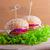 cheeseburger · pomodoro · cipolla · verde · insalata · alimentare - foto d'archivio © user_11224430