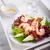 avokádó · Seattle · saláta · mustár · mártás · kés - stock fotó © user_11224430