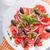 Rood · grapefruit · plaat · textuur · voedsel · vruchten - stockfoto © user_11224430